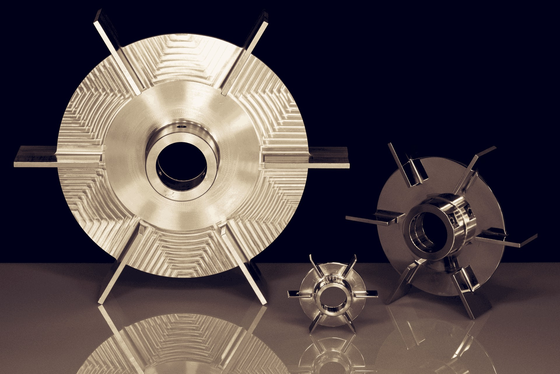 Impellers in aisi 316 stainless steel